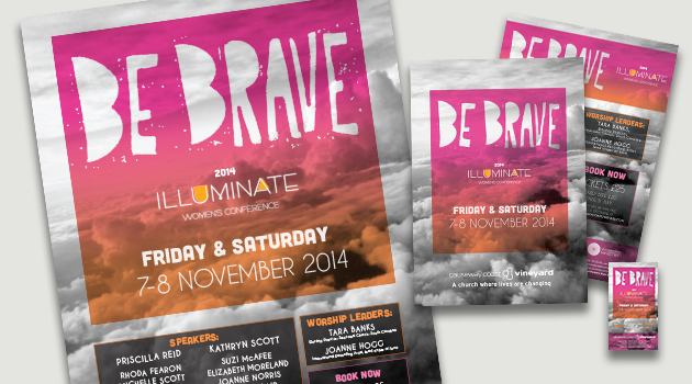 Be Brave Marketing Materials